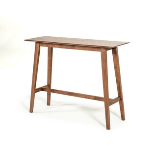 Teressa Rectangular Wooden Pub Table