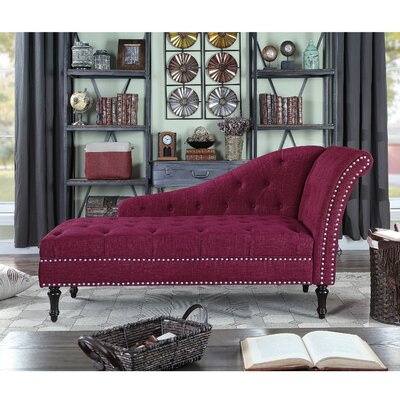 Red Chaise Lounge Chairs You Ll Love In 2019 Wayfair