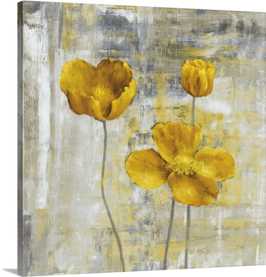 Great big canvas yellow flowers ii by carol black painting print yellow flowers ii by carol black painting print mightylinksfo