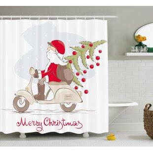 Top Bicycle Shower Curtain | Wayfair ID75
