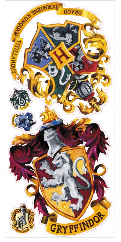 Harry Potter Crest Wall Decal Part 89
