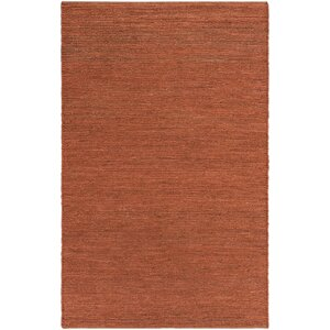 Purity Sydney Hand-Woven Brick Red Area Rug
