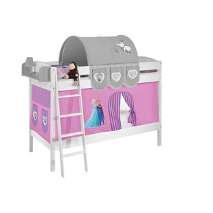 Disney's Frozen European Single Bunk Bed with Bottom Bunk Curtain by Frozen
