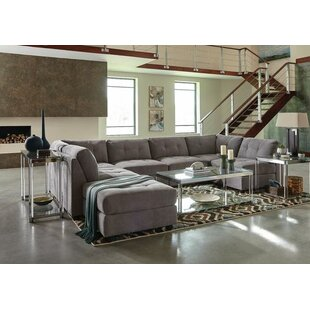 Fowles Modular Sectional With Ottoman