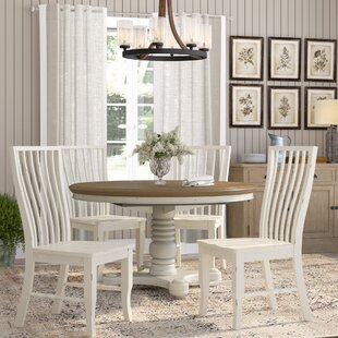Fleeton 5 Piece Extendable Solid Wood Dining Set