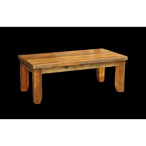 Barnwood Coffee Table with Square Legs by Ut..