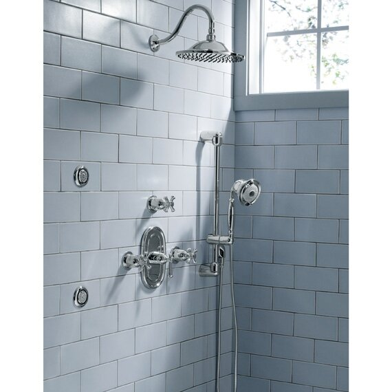 American Standard Portsmouth Central Dual Shower Faucet