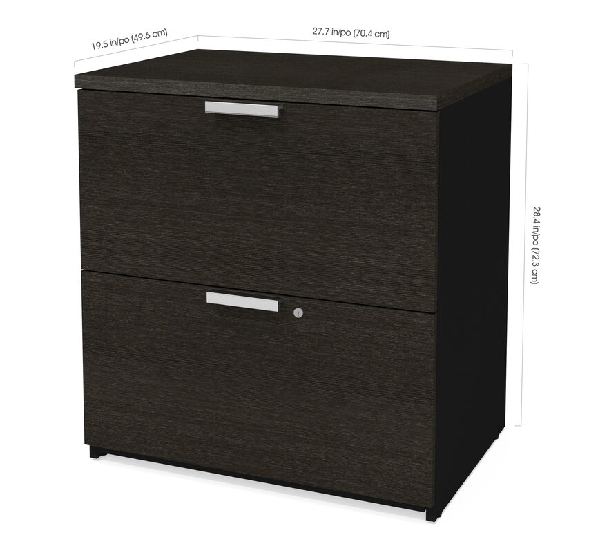 Hartleton 2 Drawer Lateral Filing Cabinet