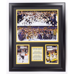 Pittsburgh Penguins 2017 Back To Champions Framed Photographic Print