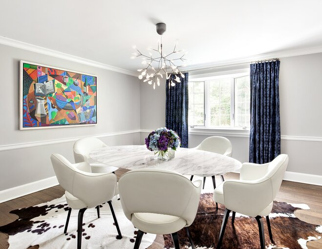 Oval Dining Table Foolproof Dining Room Layout Tips  Wayfair