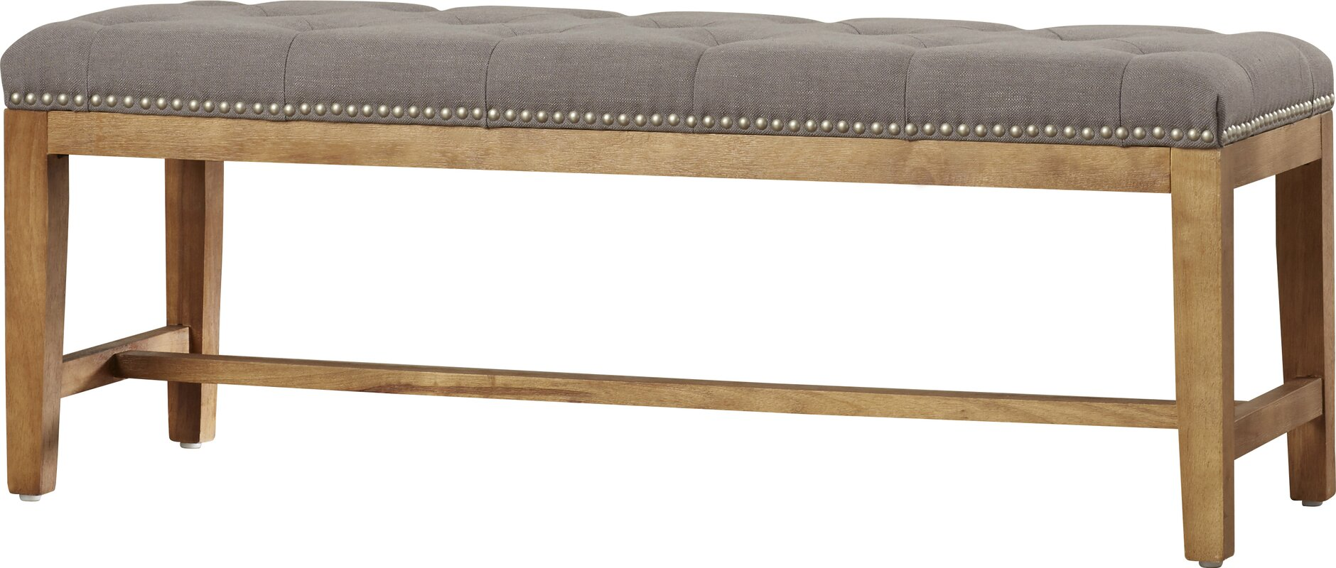 Contemporary bedroom bench - Grunewald Upholstered Bench