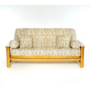 Pekoe Box Cushion Futon Slipcover by Lifestyle Covers