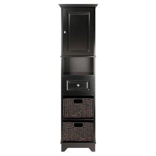 Pierrepont 1 Door Tall Accent Cabinet
