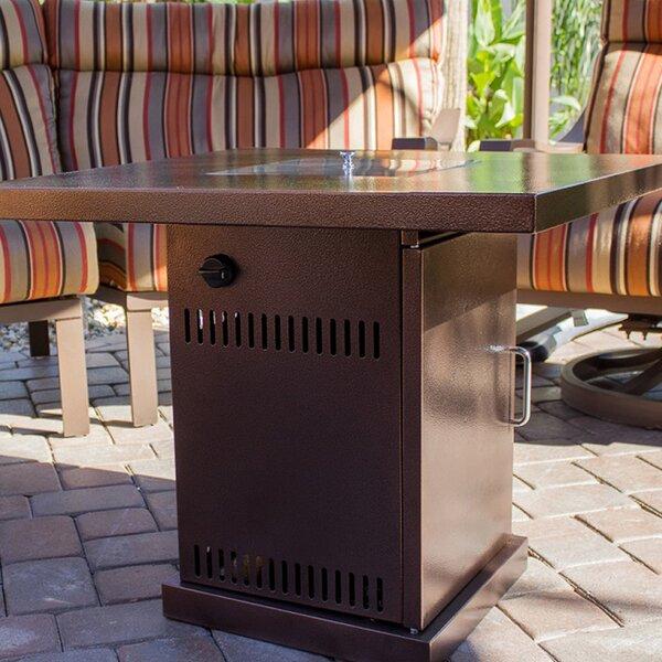 Belleze 40,000 BTU Outdoor Patio Heater Fire Pit Table U0026 Reviews | Wayfair