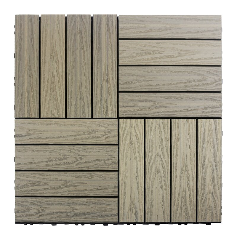 Newtechwood Naturale Composite 12 Quot X 12 Quot Interlocking Deck