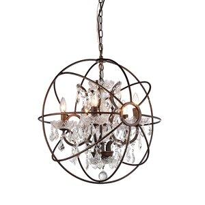 5-Light Globe Pendant