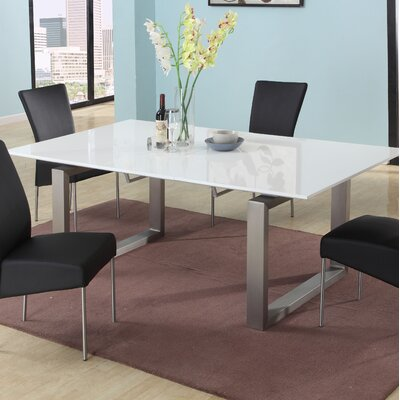 White High Gloss Dining Table Wayfair