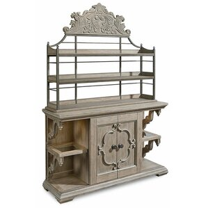 Carolin Lighted Console China Cabinet by ..