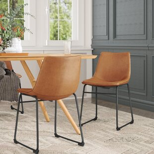 Cladeus Vintage Upholstered Dining Chair (Set of 2)