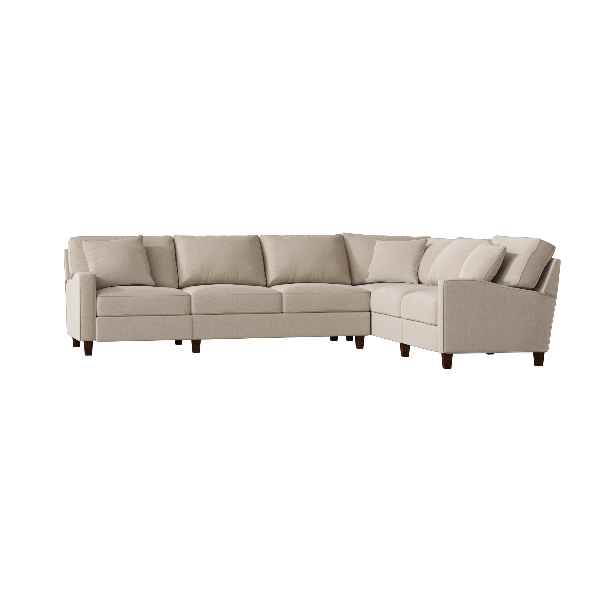 Magnificent Off White Sectional Sofa Wayfair Home Interior And Landscaping Ologienasavecom