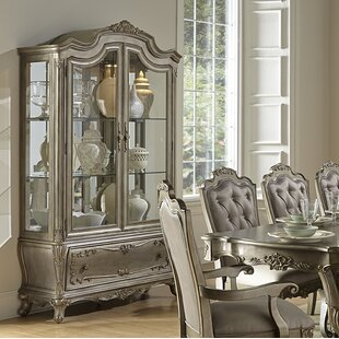 Daniels Lighted China Cabinet
