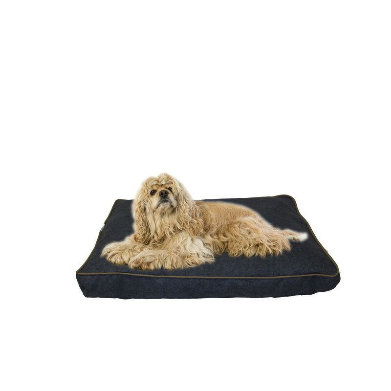 Carolina Pet Company Indoor/Outdoor Dog Bed with Cording in Solid ...