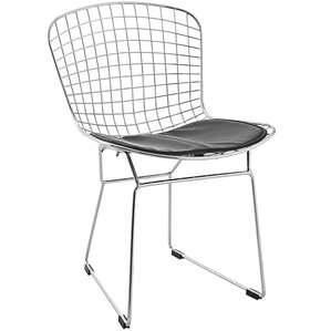 Bertoia Inspired Side Chair by C2A Designs