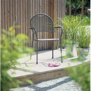 7-tlg. Stapelbares Gartenstuhl-Set Pico von MWH
