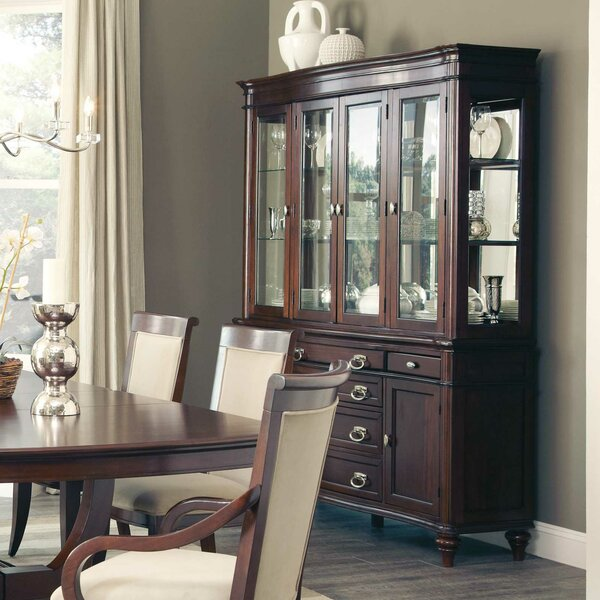 Wildon Home Alyssa China Cabinet Reviews Wayfair - Alyssa dining room set