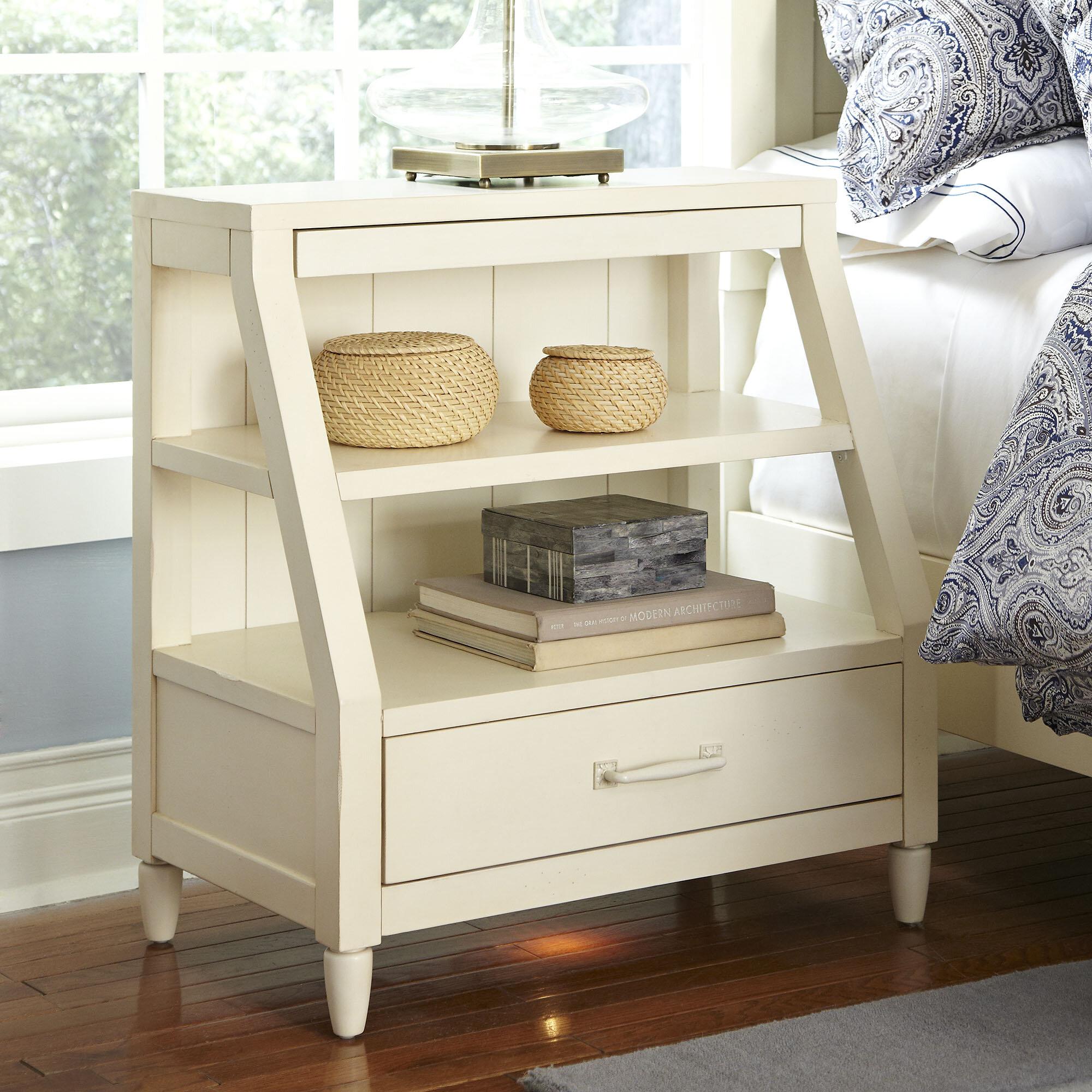 Birch LaneTM Heritage Reeves Open Shelf 1 Drawer Nightstand Reviews