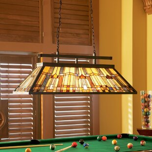 Rustic pendant lighting youll love wayfair bush pool table light greentooth Images
