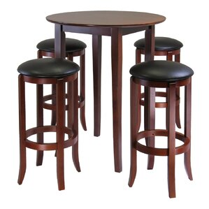 Fiona 5 Piece Pub Table Set by Luxury Home