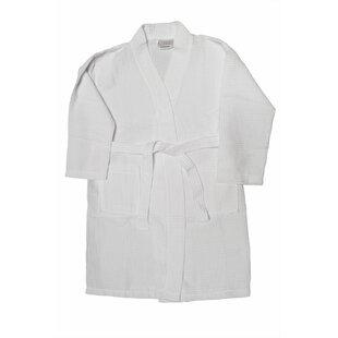 aeb83e0578 Kimono Cotton Blend Waffle Bathrobe
