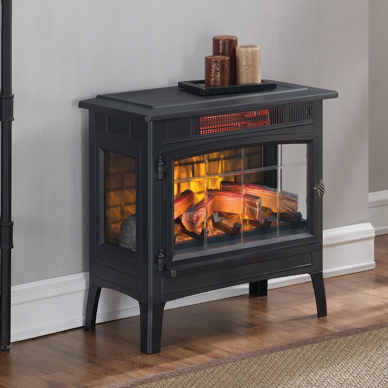 Twin Star Home duraflame® Vent Free Electric Stove & Reviews | Wayfair