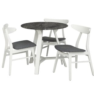 Toussaint Round Top 4 Piece Dining Set