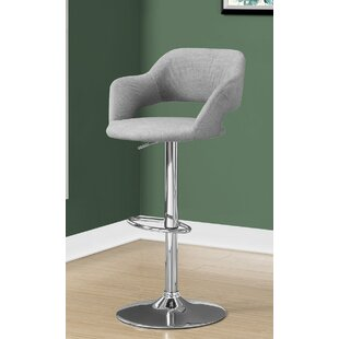 Crick Adjustable Height Swivel Bar Stool
