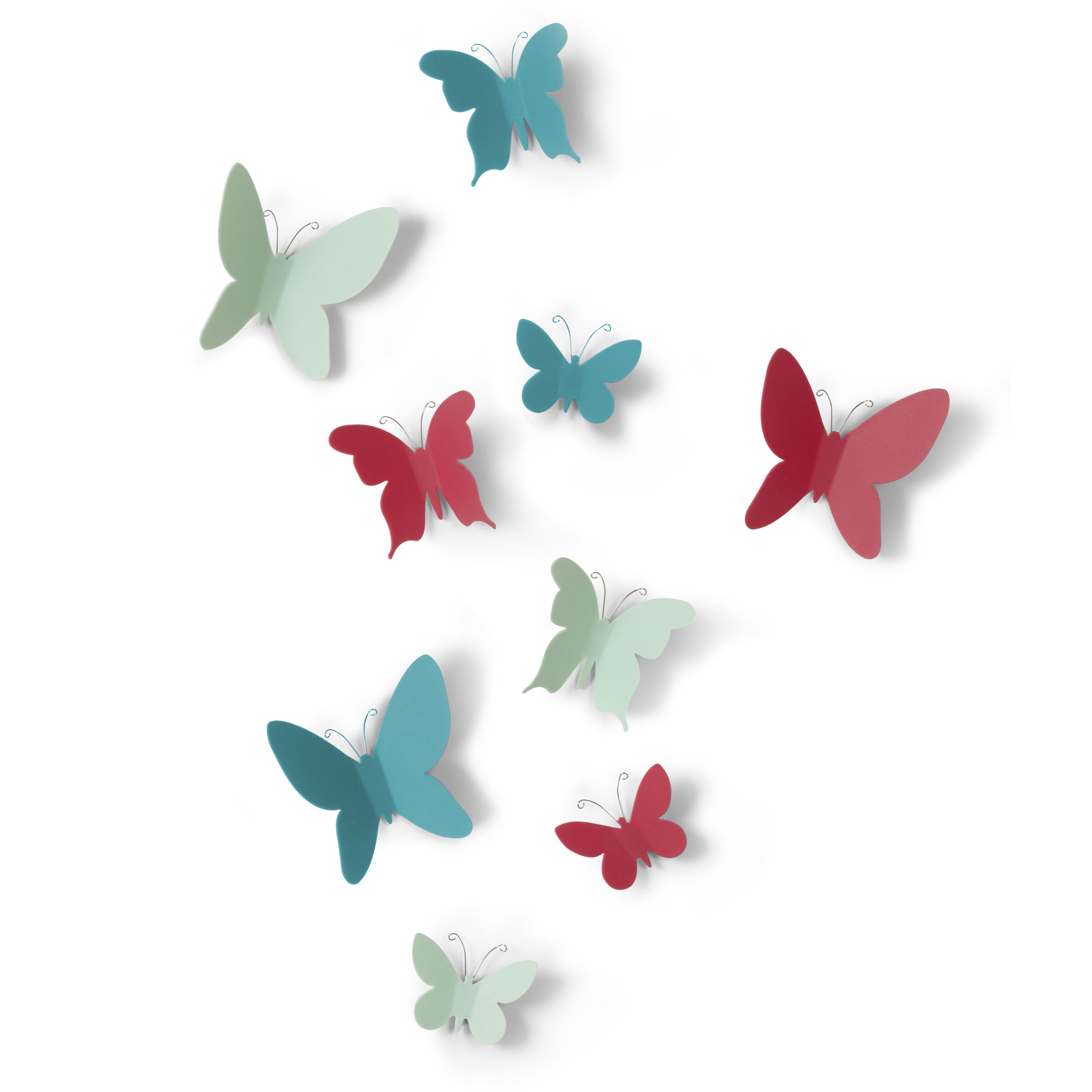 Mariposa 9 Piece Wall Decor Set