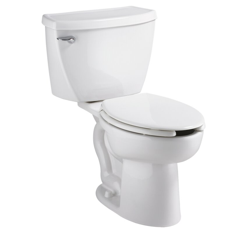 American Standard Cadet 1.6 GPF Elongated Two-Piece Toilet (Seat Not Included)
