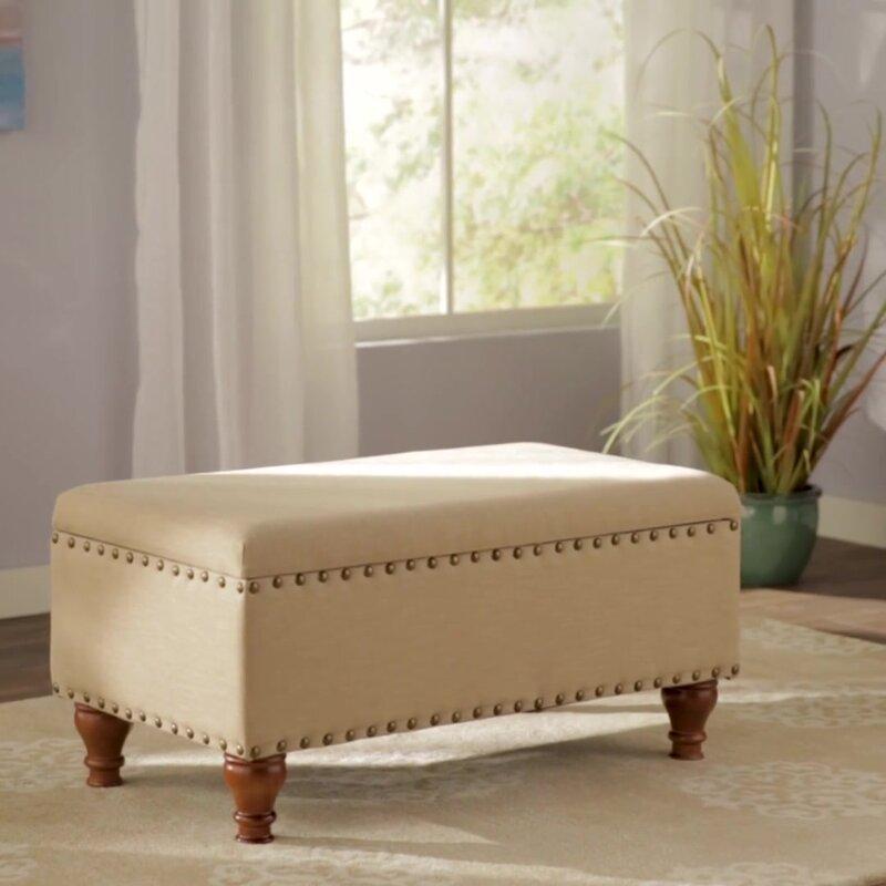 Alcott Hill Varian Upholstered Storage Bedroom Bench: Alcott Hill Oakford Upholstered Storage Bench & Reviews