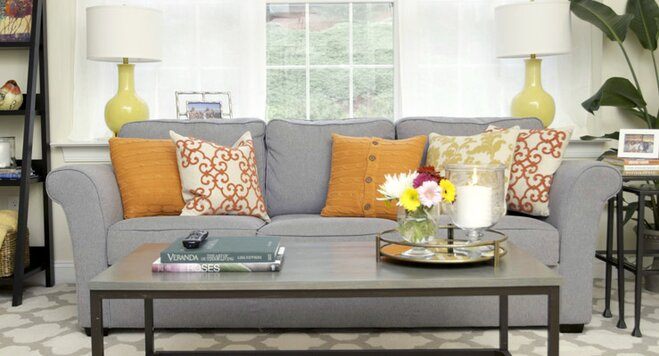 Decorating With A Warm Color Palette