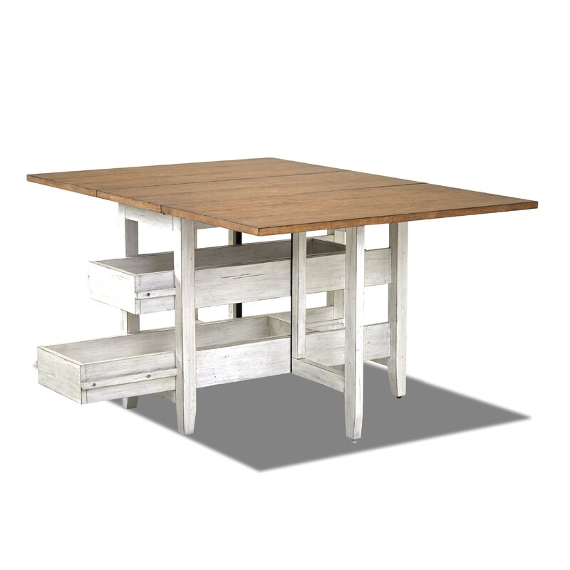Trisha Yearwood Home Gate Leg Drop Leaf Dining Table