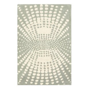 Reviews Chiara Light Blue / Light Ivory Contemporary Rug By Latitude Run
