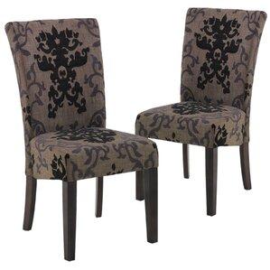 urbanity montecito parsons chair set of 2
