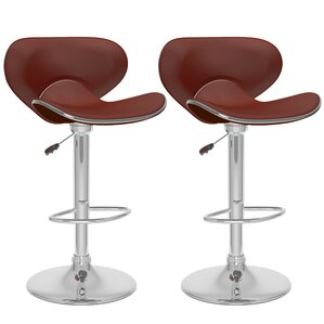 Adjustable Height Swivel Bar Stool (Set of 2) b..