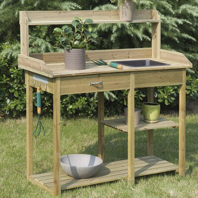 Potting Benches Amp Tables You Ll Love In 2019 Wayfair