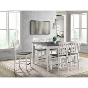 Jamison 7 Piece Counter Height Extendable Dining Set