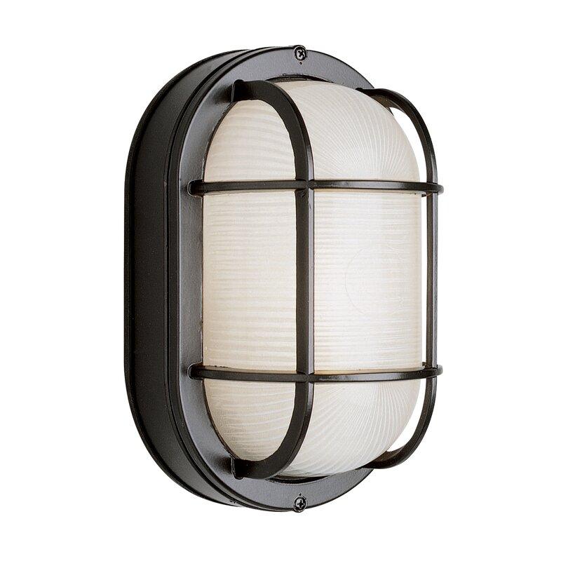 Zjojo Barn Light: Lia 1-Light Outdoor Bulkhead Light & Reviews