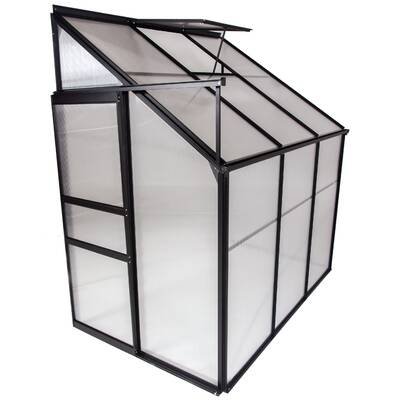 Tierra Garden Haxnicks 11 5 Ft  W x 11 5 Ft  D Greenhouse