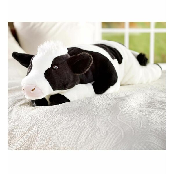 Plow Amp Hearth Cuddly Cow Body Pillow Amp Reviews Wayfair