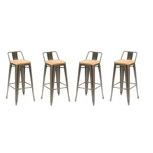 Reagan Low Back Counter Stools Wayfair
